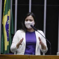 Câmara aprova projeto de Sâmia Bomfim que institui medidas para abrigar mulheres em situação de violência