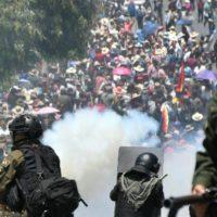 Em defesa da democracia na Bolívia! Abaixo o novo golpe da direita! Eleições livres já!