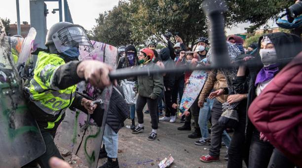 Colômbia, além da noite de fúria e revolta