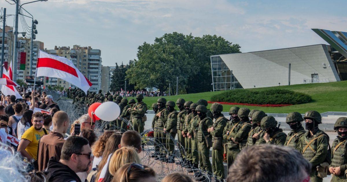 O movimento operário organizado e não-organizado no levante de Belarus