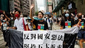 """Como o """"Lion Rock Spirit"""" bloqueou os chamados de greve em Hong Kong"""