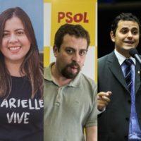 Não vão nos calar! Em solidariedade a Sâmia, Boulos, Glauber, Felipe Neto e Carol Solberg!