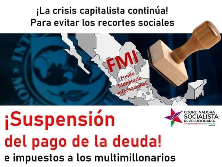 Suspensão do pagamento da dívida pública!