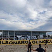 Abaixo o governo genocida de Bolsonaro!