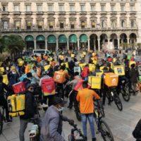 Na Itália, as perspectivas abertas pela greve nacional dos entregadores
