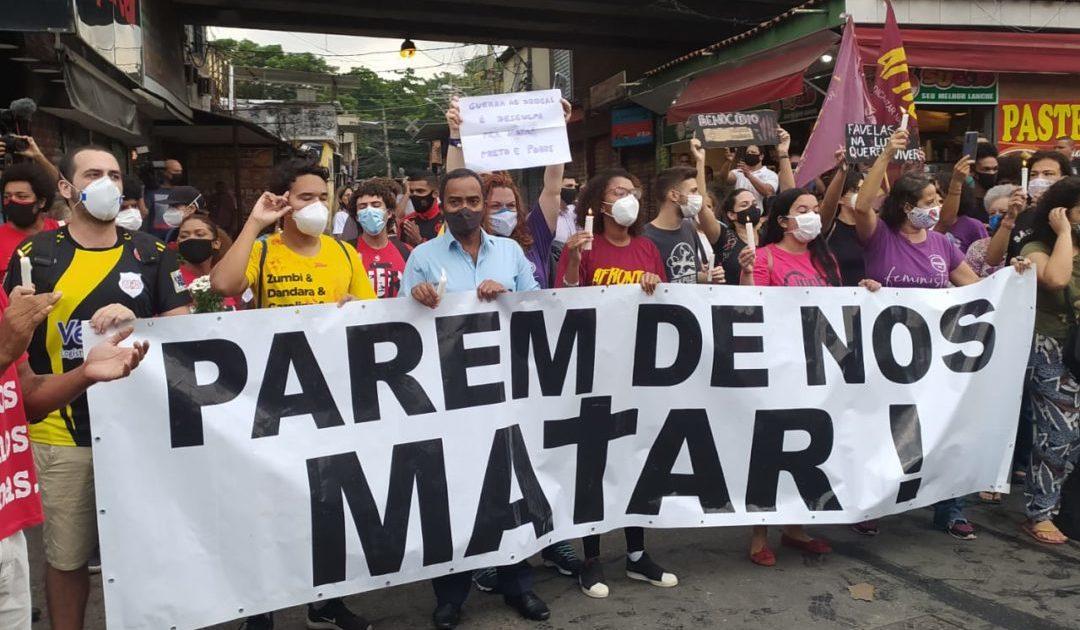 Massacre do Jacarezinho: chega de chacina nas favelas do Brasil!