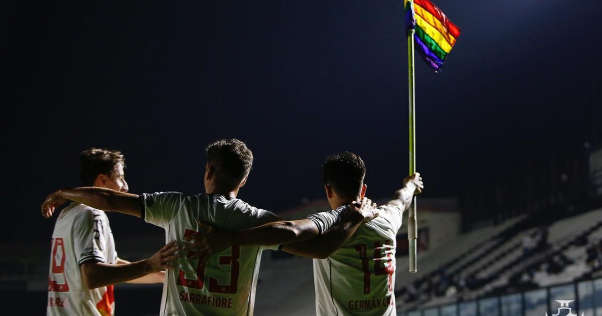 O Vasco sob o arco-íris
