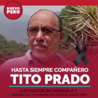 Tito Prado, Presente!