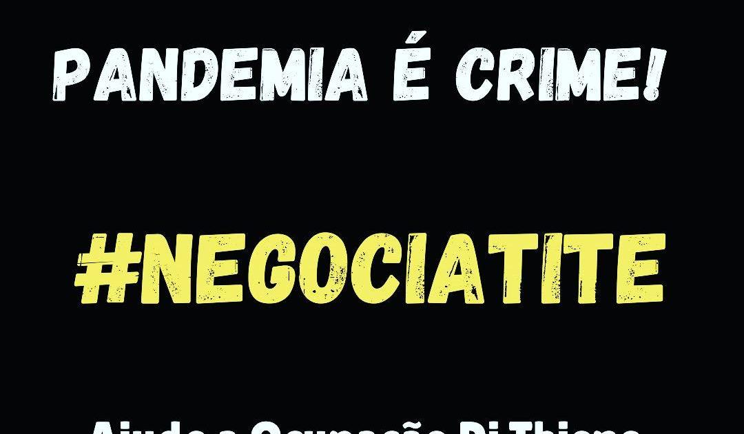 Despejo criminoso em São Caetano causa revolta