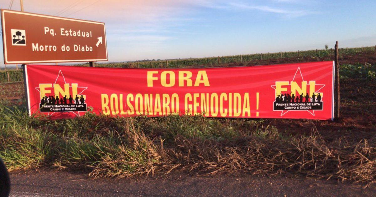 FNL continua jornada de lutas por terra e moradia em São Paulo