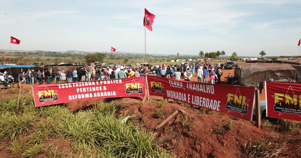 Acampamento Miriam Farias é referência na resistência por Reforma Agrária
