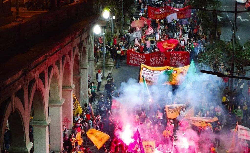 13J: uma vanguarda combativa para fortalecer a unidade contra Bolsonaro #RumoAo24J