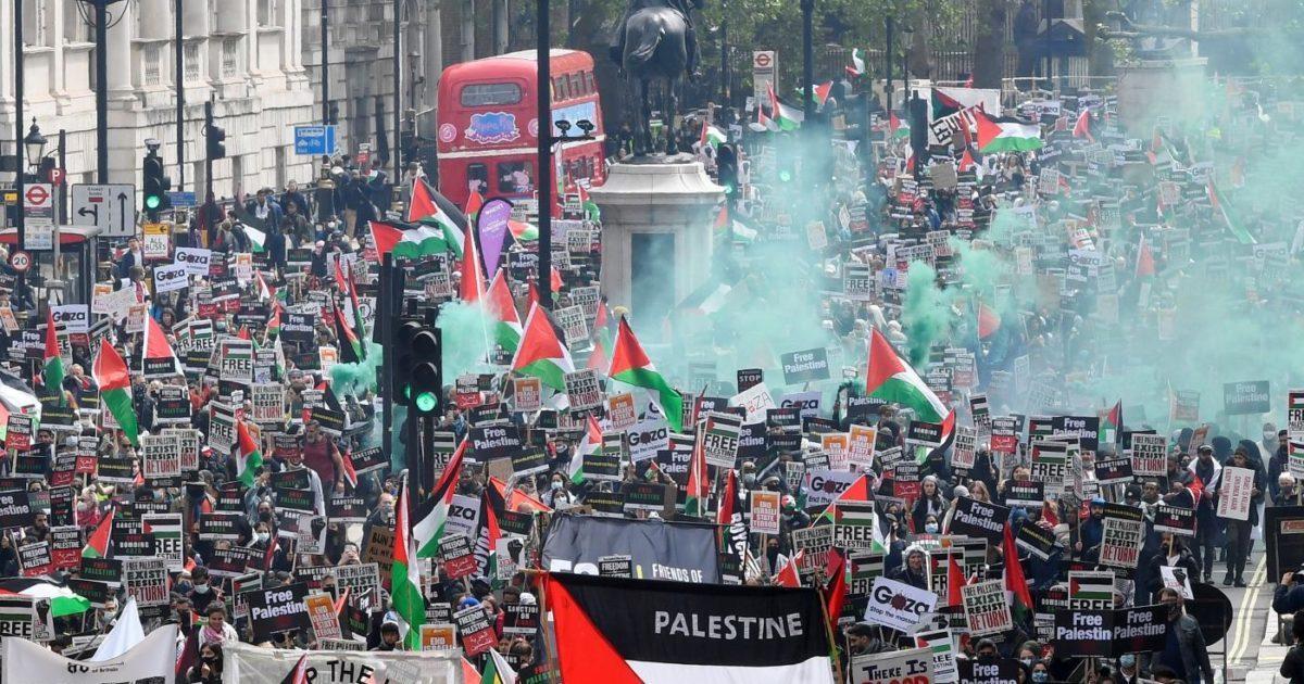 Algumas boas notícias – o apoio aos palestinos está crescendo