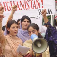 A RAWA sobre a conquista do Talibã