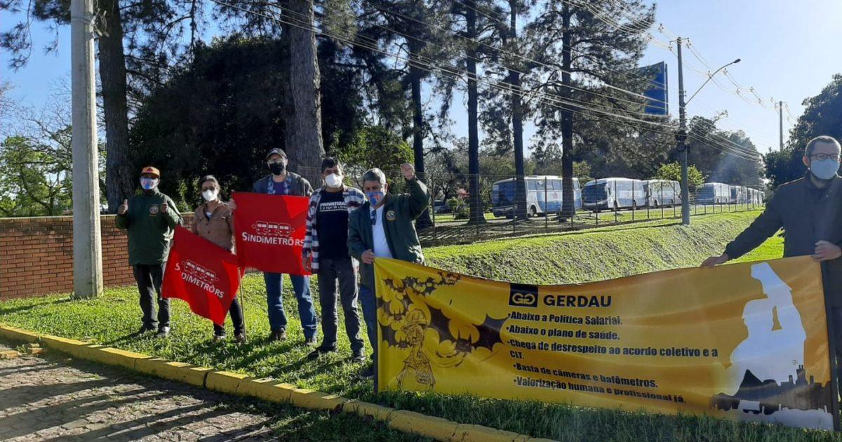 Nosso apoio a mobilização da GERDAU