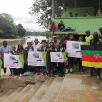 Colômbia: as comunidades iniciam a caravana humanitária em Chocó frente a presença de grupos armados